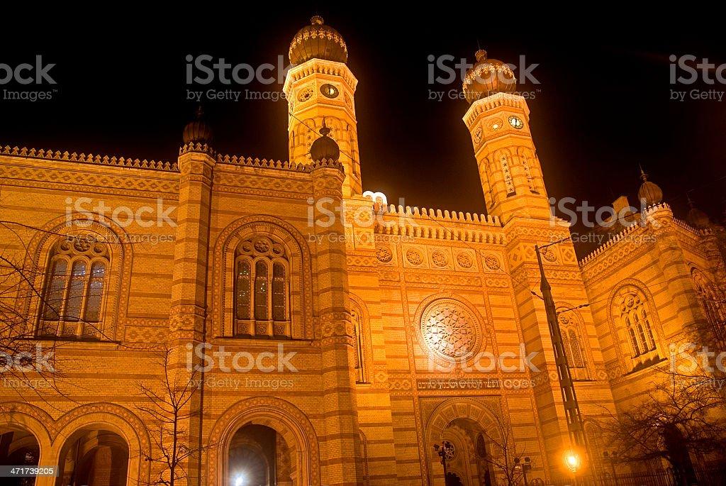 Synagogue, Budapest, Hungary stock photo
