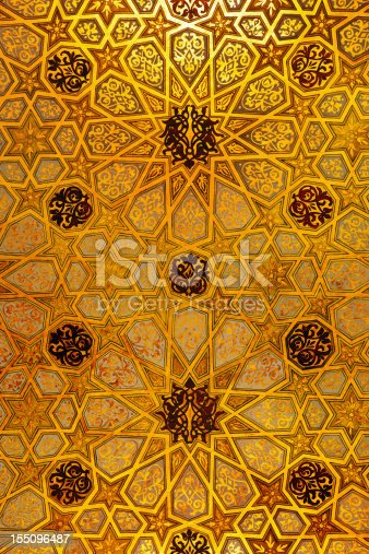 Synagogue ceiling detail