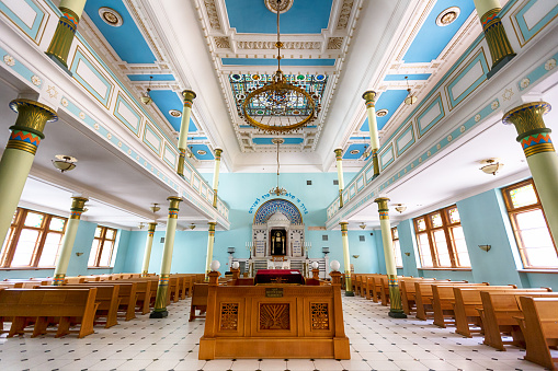 Synagogue In Riga Stock Photo - Download Image Now
