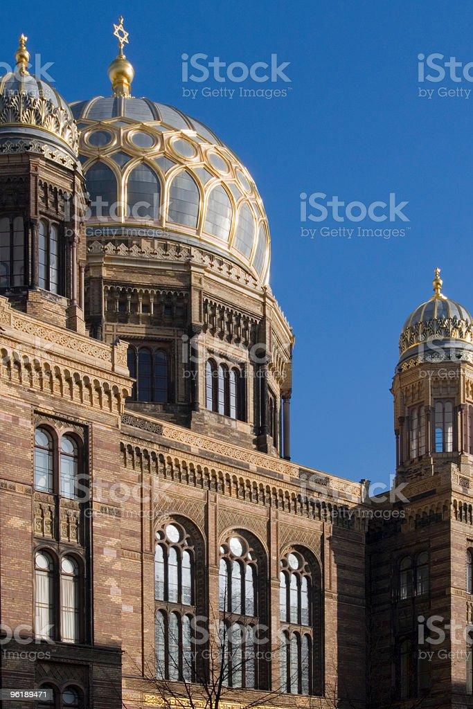 Synagogue royalty-free stock photo