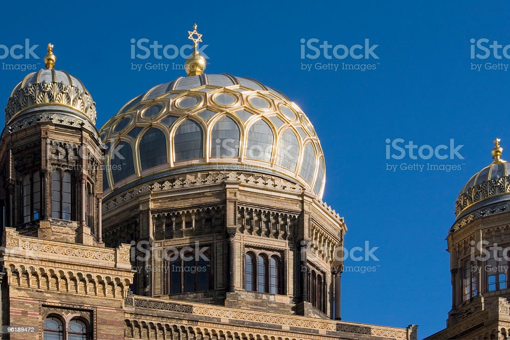 Synagogue stock photo