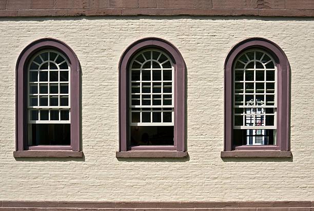 Synagogue Wall stock photo