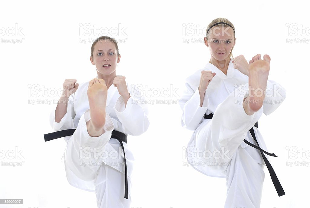 Synchronized royalty-free stock photo