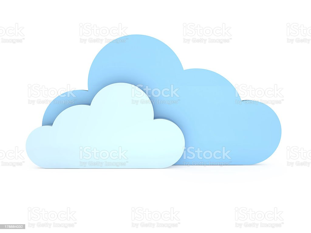 Synchronizing with Clouds royalty-free stock photo