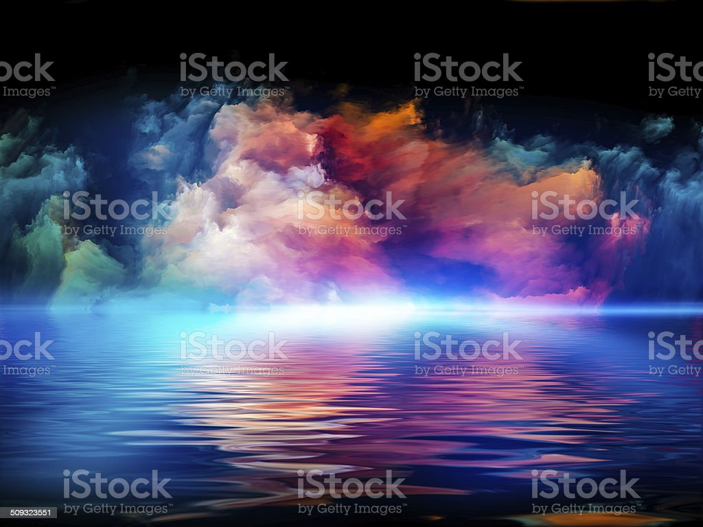 Synergies of Colors stock photo