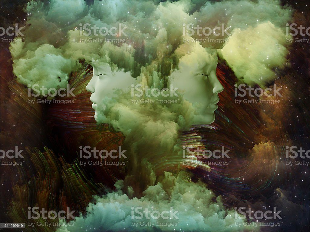 Synergies of Dream stock photo