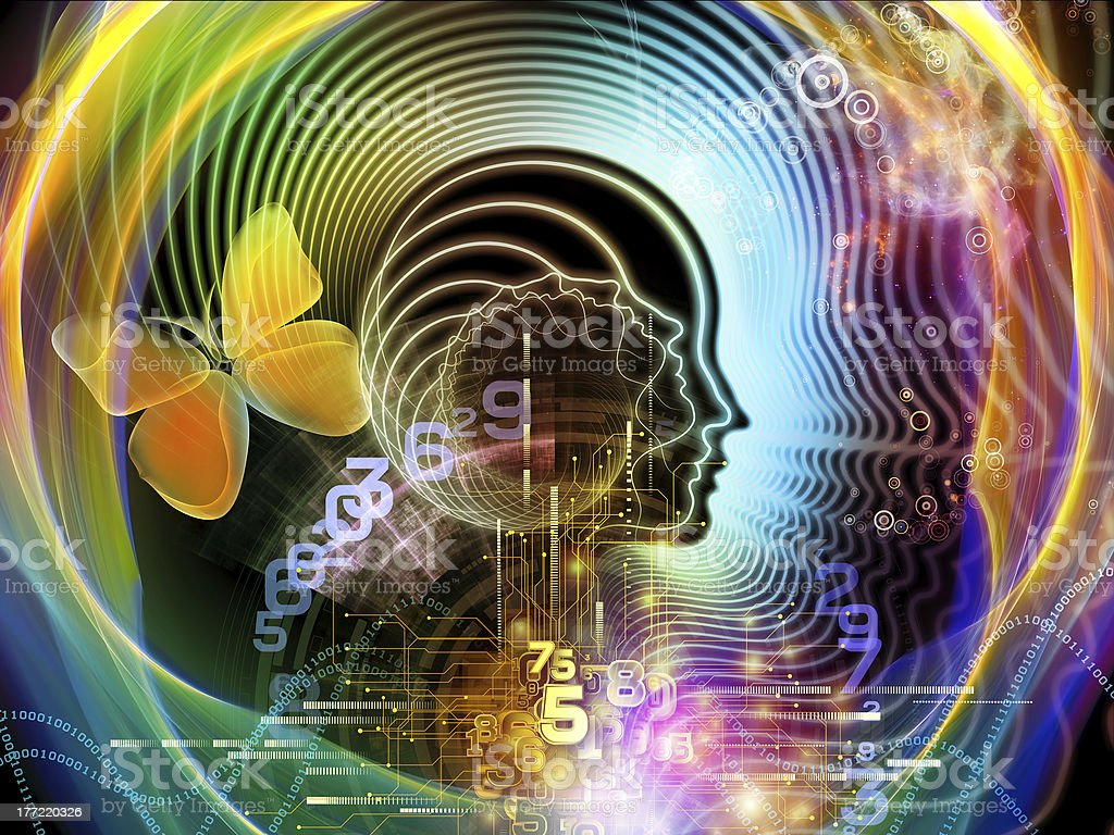 Synergies of Human Mind royalty-free stock photo