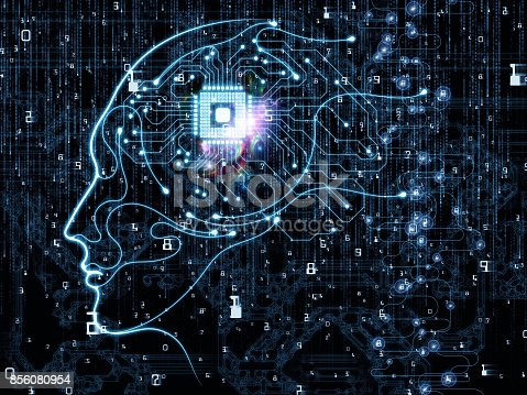 istock Synergies of Machine Consciousness 856080954