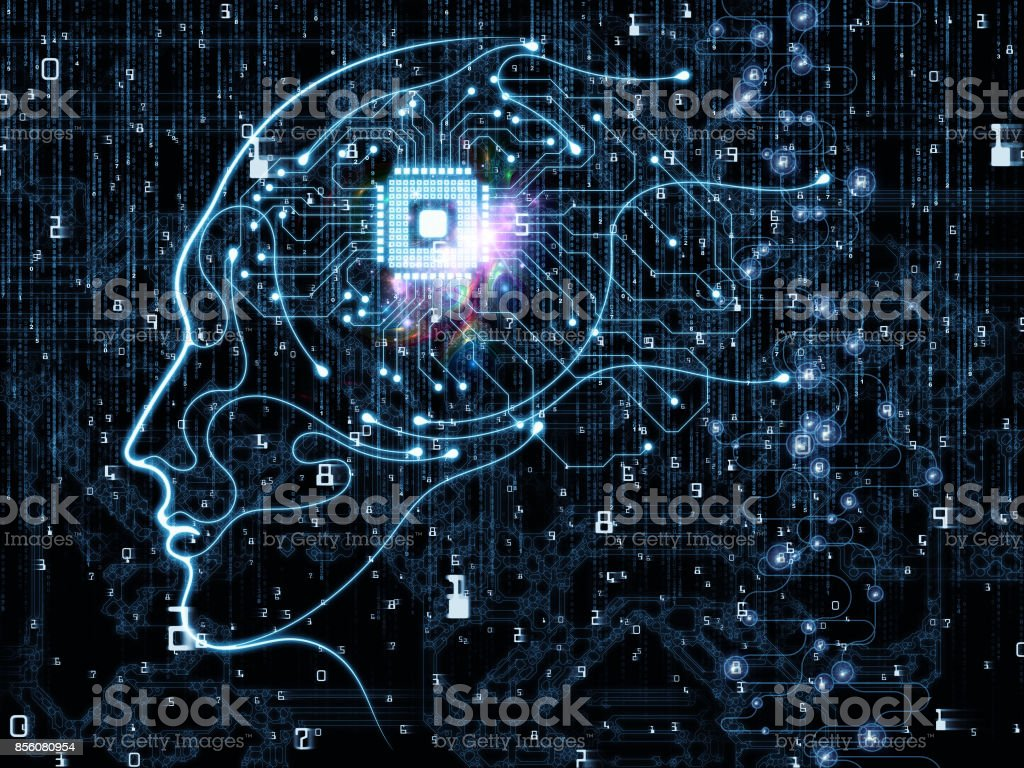 Synergies of Machine Consciousness stock photo