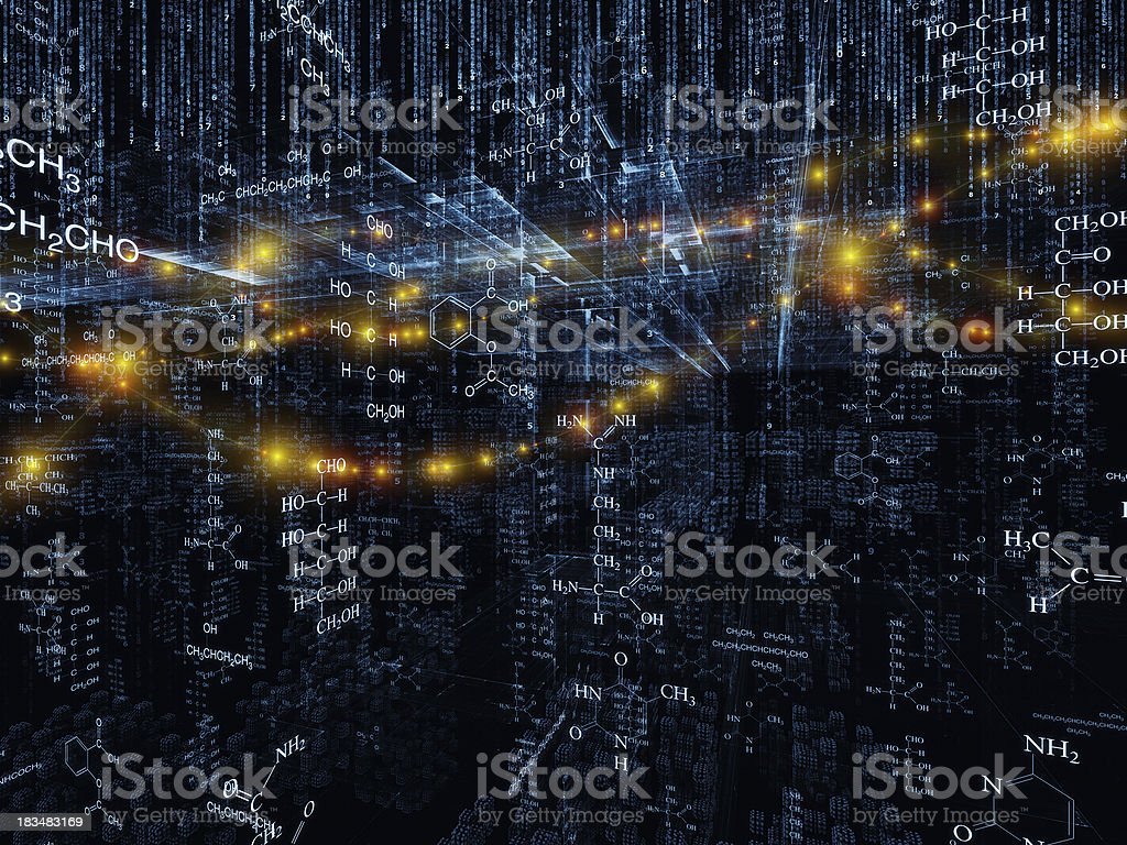 Synergies of Science royalty-free stock photo