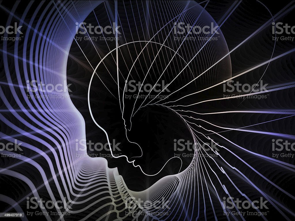 Synergies of Soul Geometry royalty-free stock photo