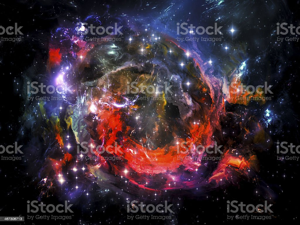 Synergies of Space royalty-free stock photo