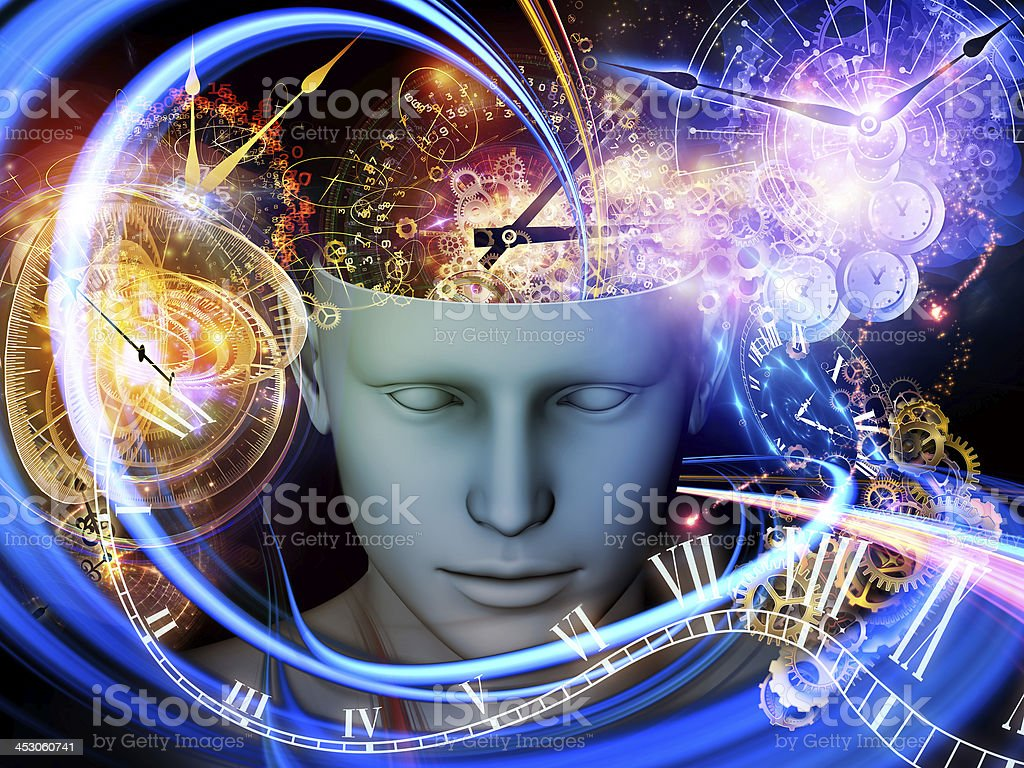 Synergies of the Mind stock photo