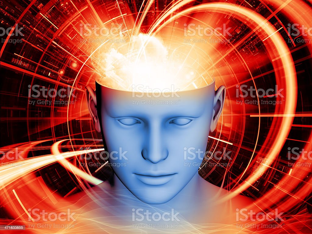 Synergies of the Mind royalty-free stock photo