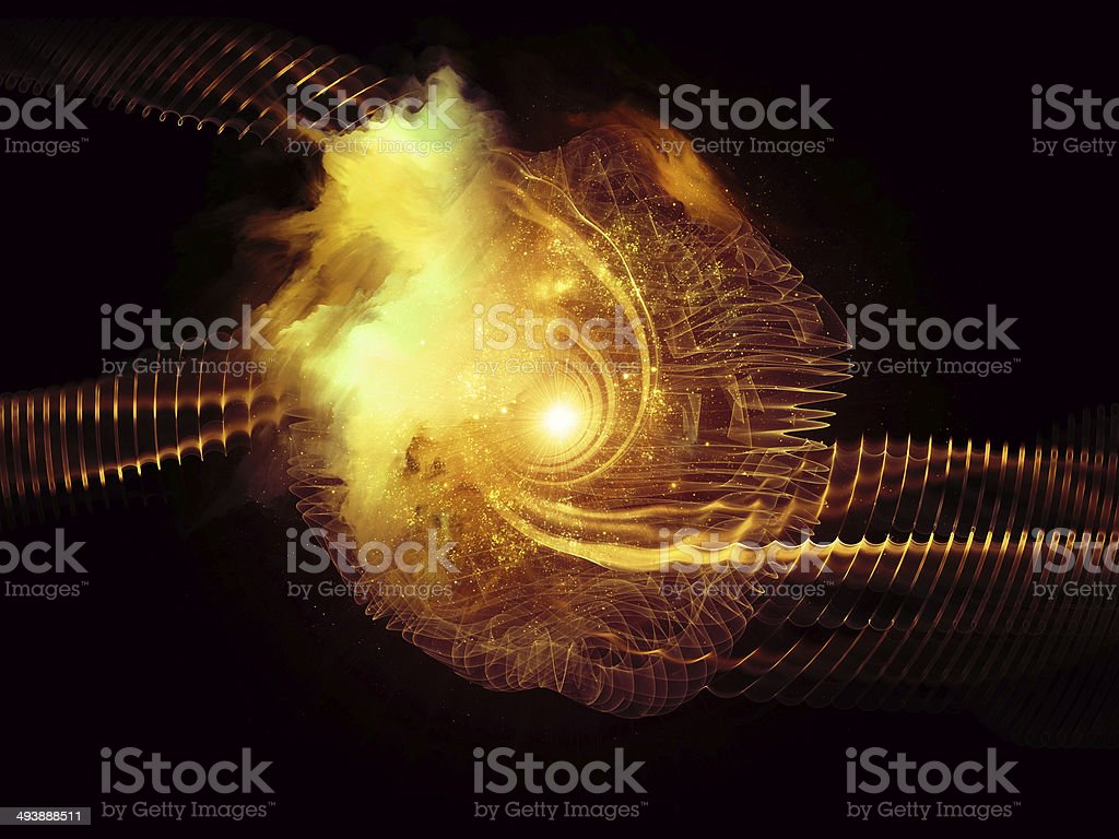 Synergies of Vortex stock photo