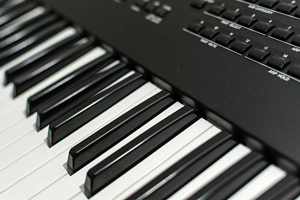 Synthesizer keyboard Synthesizer keyboard new age music stock pictures, royalty-free photos & images