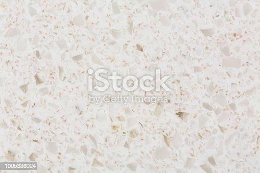 istock Synthetic quartz stone texture 1005336024