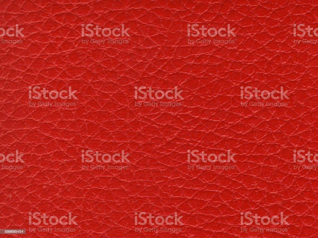 Synthetic Red Leather Texture Foto De Stock Y Más Banco De