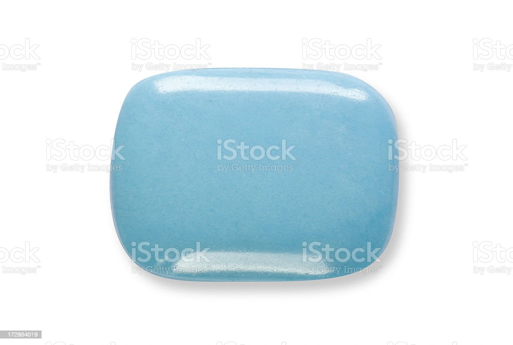 Synthetic Turquoise royalty-free stock photo