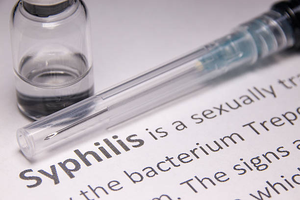 Syphilis Syphilis vaccine under research. treponema pallidum stock pictures, royalty-free photos & images
