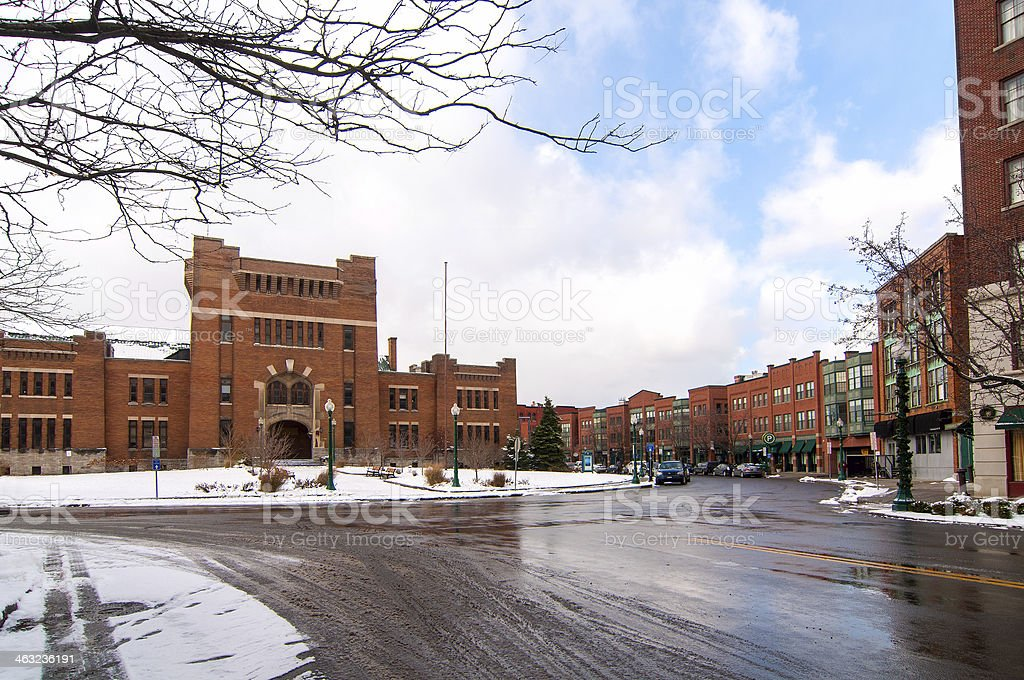 Syracuse Armory stock photo