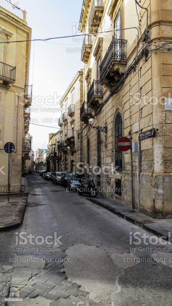 Syracuse, Ortygia, Sicily, Italy royalty-free stock photo
