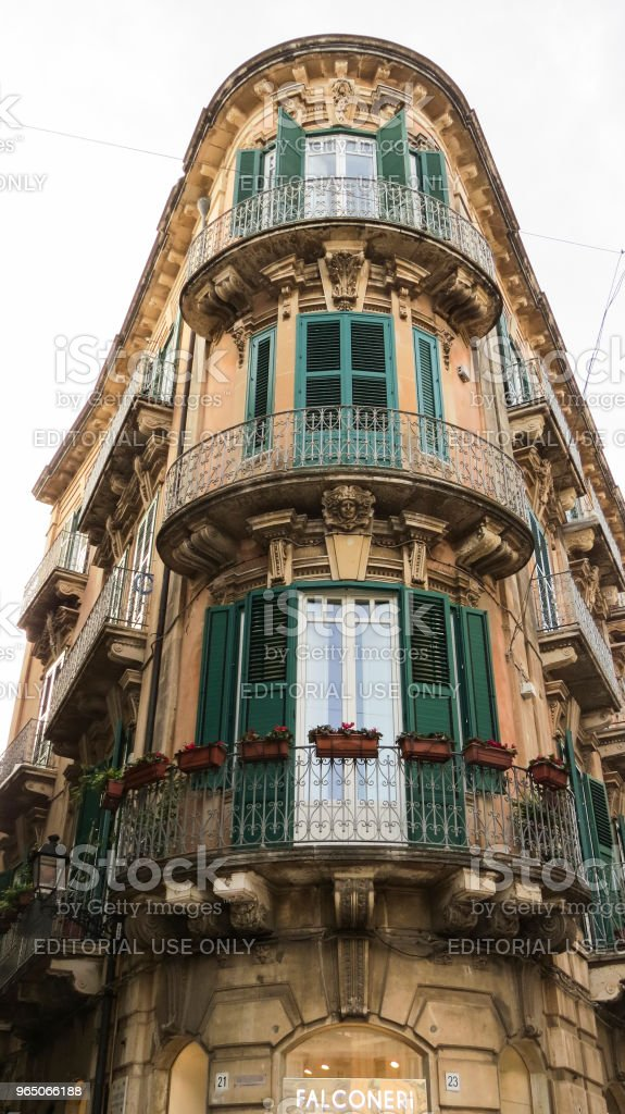 Syracuse, Ortygia, Sicily, Italy royalty-free stock photo