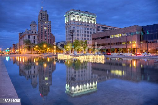 Syracuse is a city in and the county seat of Onondaga County, New York