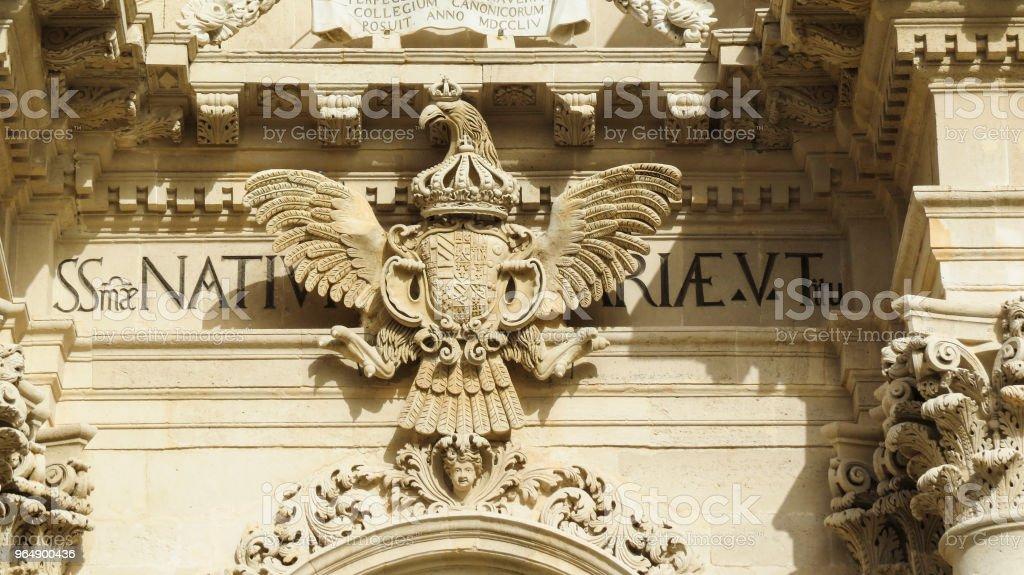 錫拉庫紮,西西里島,義大利 - 免版稅Cassata圖庫照片