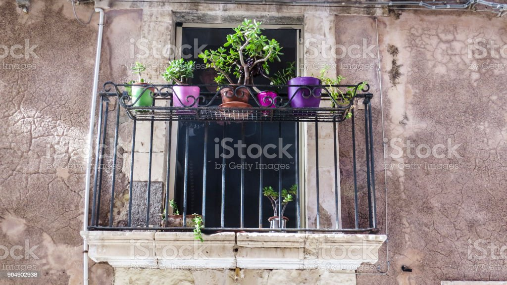 Syracuse, Sicily, Italy royalty-free stock photo