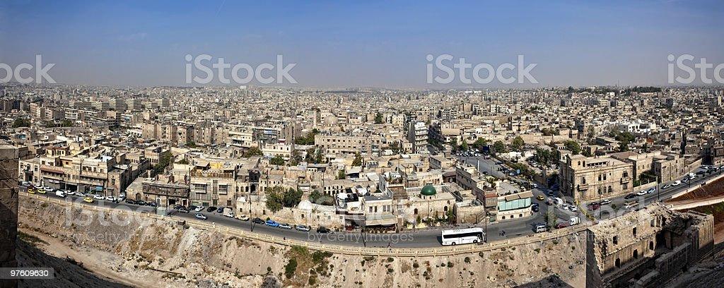 Syria - Aleppo royaltyfri bildbanksbilder