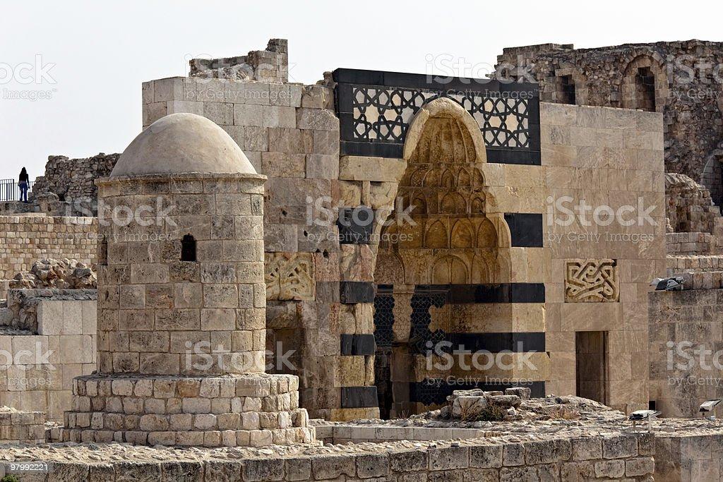Syria - Aleppo royalty free stockfoto