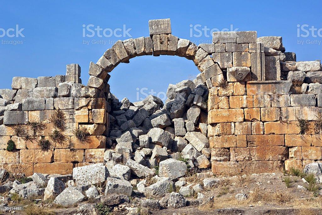 Syria - Apamea royalty-free stock photo