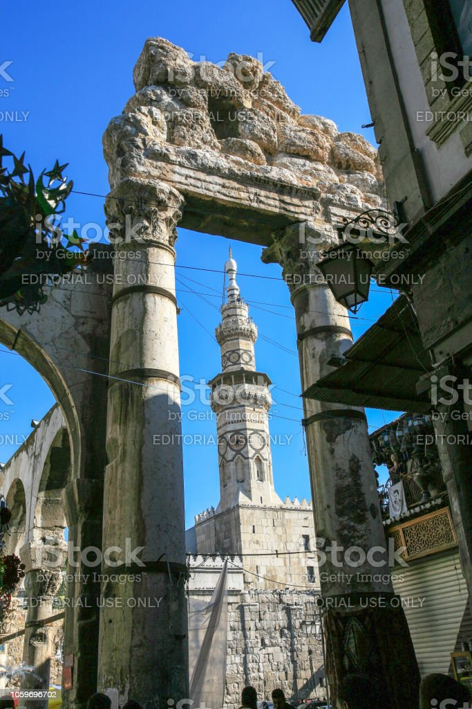 Syria Before The War The Minaret Of Qaitbay Of The Umayyad