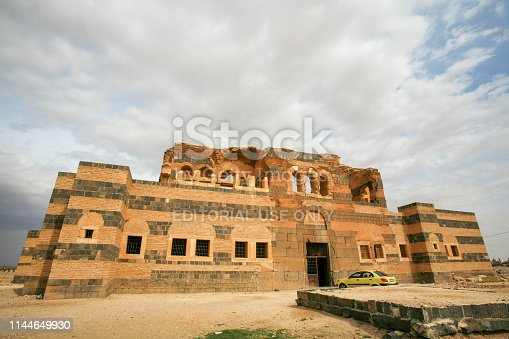 istock Syria before the war. View of the palace of the Byzantine ruins of Qasr Wardan, near the city of Hama, Syria. 1144649930