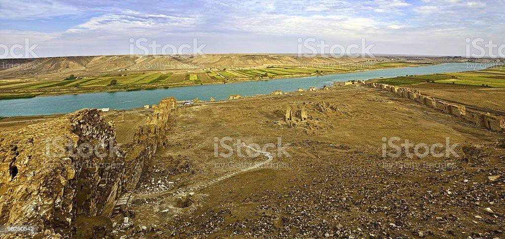 Syria - Halabia, Town of Zenobia royalty-free stock photo