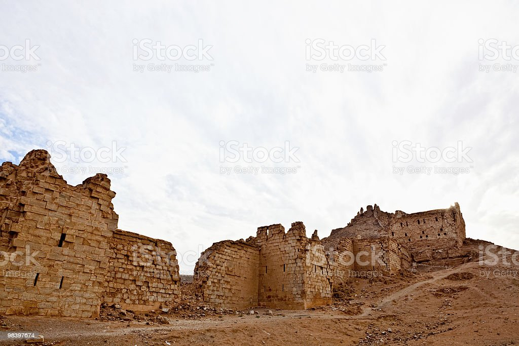 Siria-Halabia Zenobia, città di foto stock royalty-free