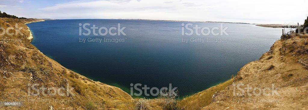 Siria-Lake Assad foto stock royalty-free