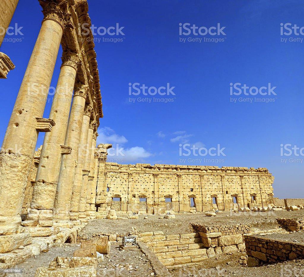 Syria - Palmyra (Tadmor) royalty-free stock photo