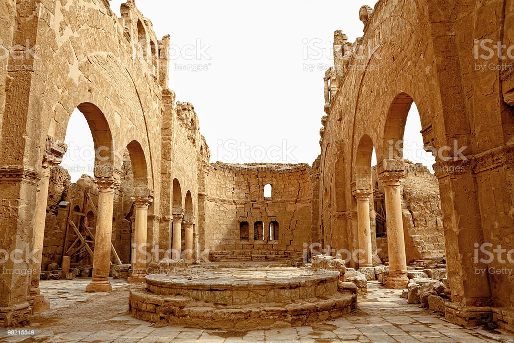 Syria - Rasafa royalty-free stock photo