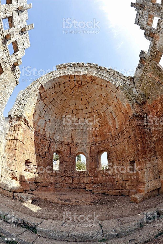 Syria - The Dead Cities, Qalb Lozeh royalty-free stock photo