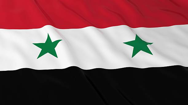 Royalty Free Syrian Flag Pictures Images And Stock Photos IStock - Syria flag