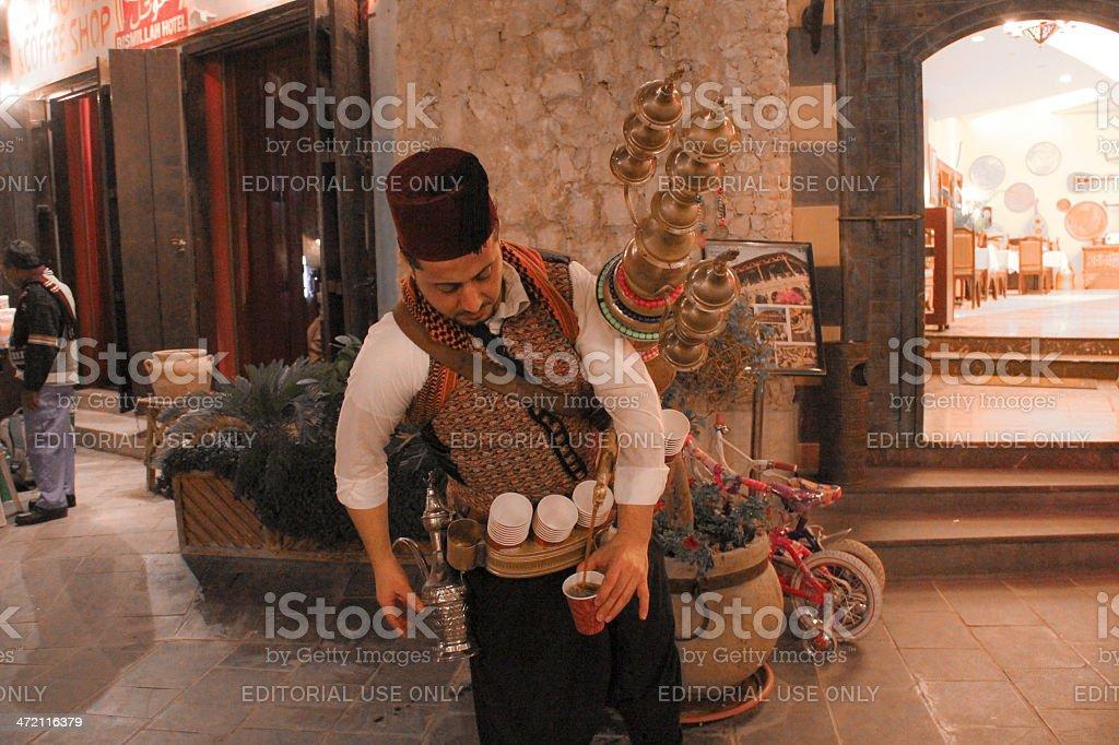 Syrian Traditional Juice Vendor stock photo
