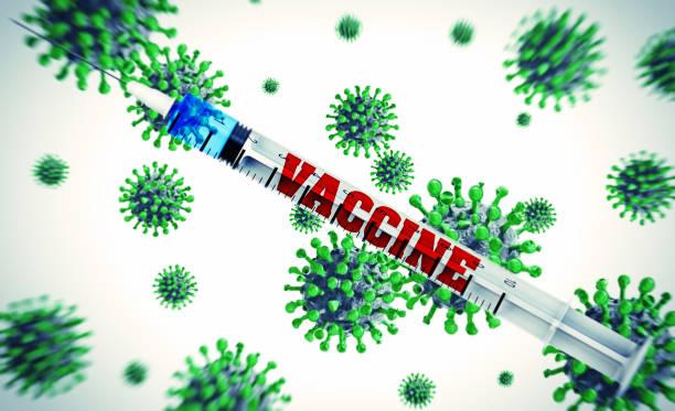 Spritze mit Impfstoff – Foto