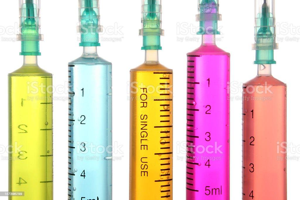 Syringes royalty-free stock photo