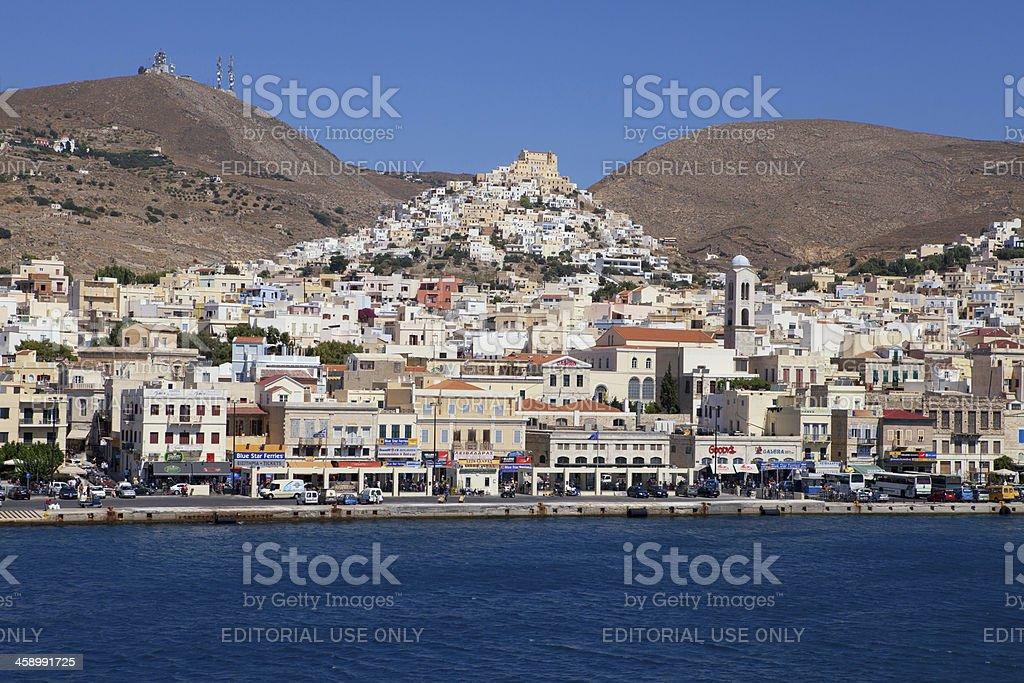 Syros, Greece royalty-free stock photo