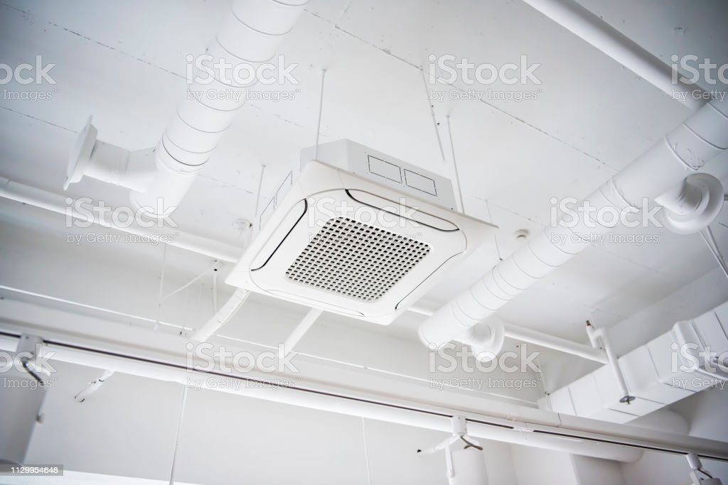 System Air Conditioner stock photo