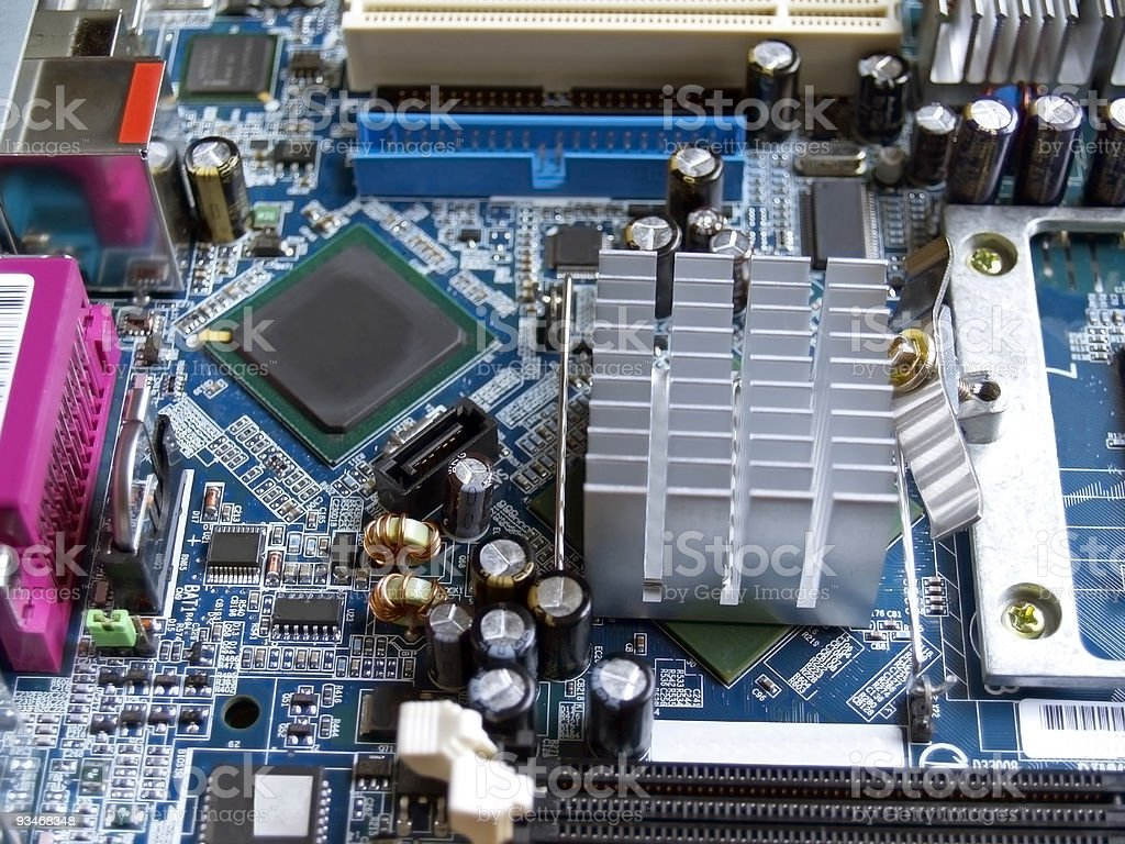 PC System Board royalty-free stock photo