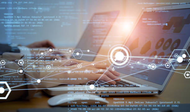 System engineering concept. Engineers working in the office. GUI (Graphical User Interface). System engineering concept. Engineers working in the office. GUI (Graphical User Interface). order stock pictures, royalty-free photos & images