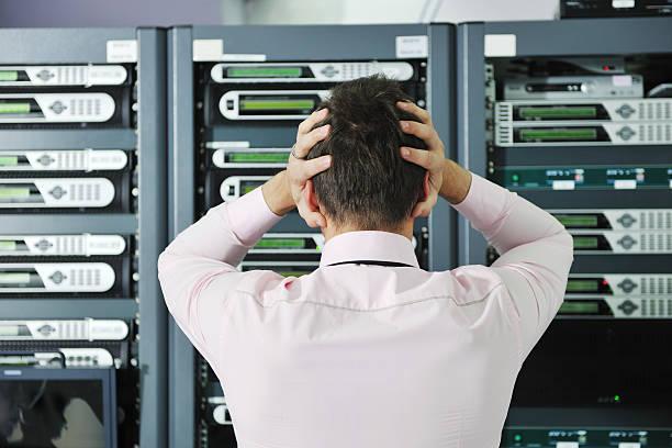 system nicht Lage in Netzwerk-server-Raum – Foto